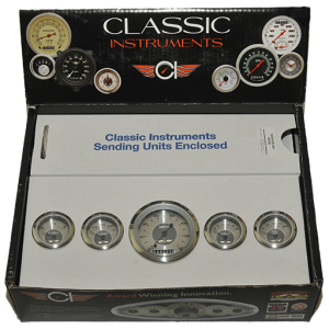 Classic Instruments – All American The Original 5 Gauge Set (includes all appropriate senders)