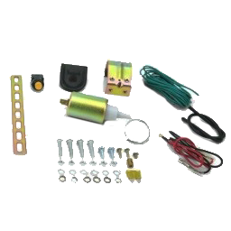 Autoloc SL15- 15 Lbs Shaved Door Solenoid Pop Handle / Latch Popper Kit.