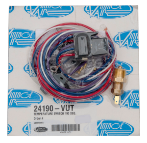 24190 – VUT 190° Temperature Switch Wiring Kit