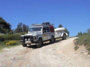 LandRover 110 & Merlin Off Road Trailer