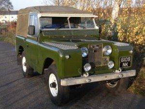 "1961 LandRover Series 11. 88"" – 4 Cylinder"