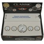 Classic Instruments White Hot Series 5 Gauge Set
