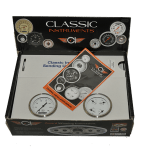 "Classic Instruments White Hot 2 Gauge Set 3 3/8"" 2 Gauge Set"