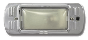 1947-1955-Chevy-GMC--Dome-Lamp-Assembly-with-Painted-Bezel