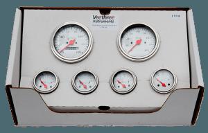Classic Instruments - Tetra Black Series 3 Gauge Set