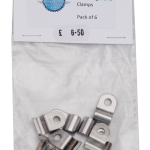 """3/16"""" Stainless Steel Single Line Clamp"""