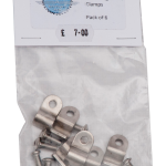 """1/4"""" Stainless Steel Single Line Clamp"""