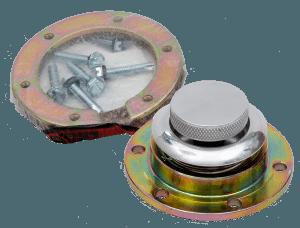 Pop-up Aluminium Fuel Cap with Bolt on Neck