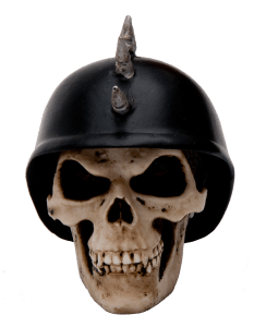 Das German Helmet Skull Custom Knob / Filter Topper