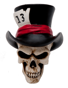 13 Hatter Skull Custom Knob / Filter Topper