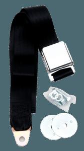 Black Lap / Seat Belt