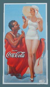 Coke Cola - Tin Sign