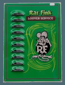 Rat Fink (Green) – Louvered Tin Sign