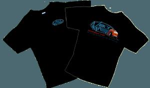 Vintage Air Black Model 'B'  'T' Shirt