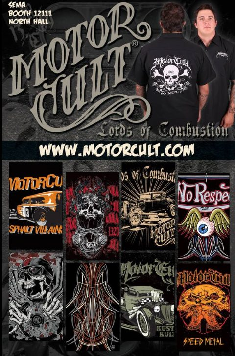 Motorcult T Shirts by Arnold's Autos