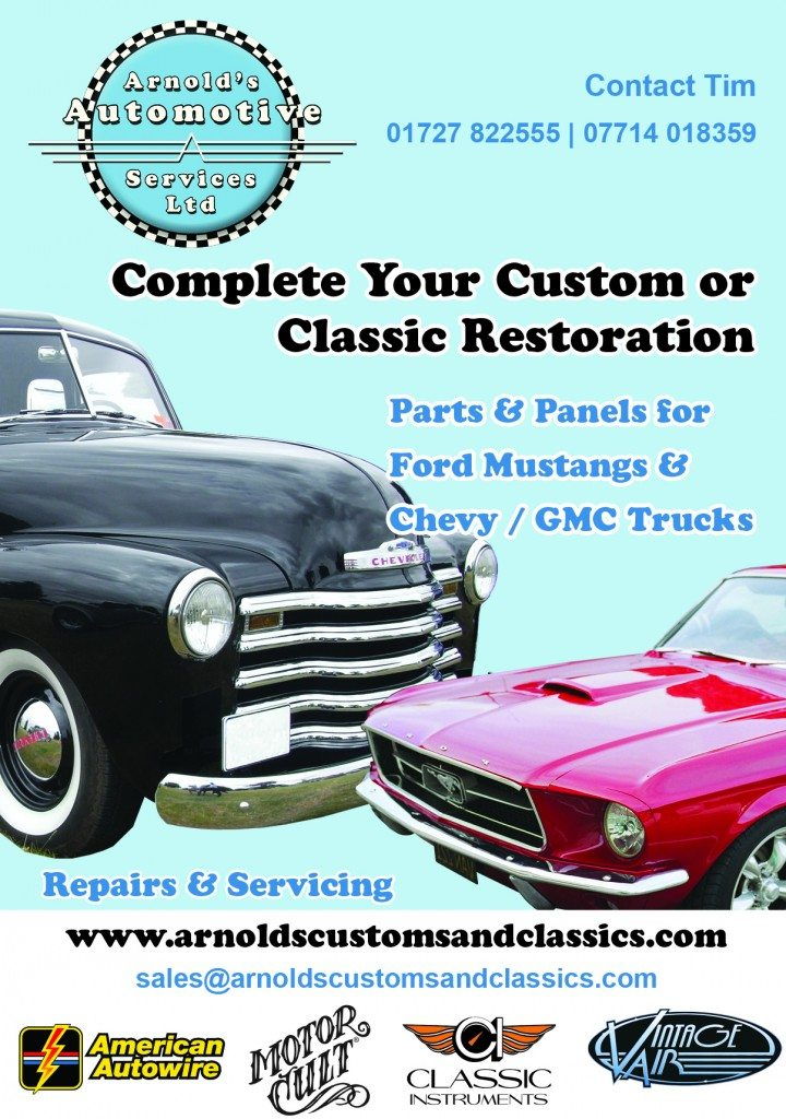 Arnold's Autos Classic British & American Auto Parts