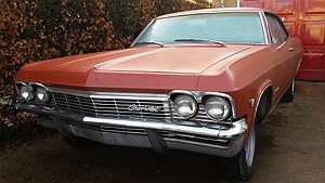 For Sale 1965 Chevrolet Impala 2 Door Coupe for Restoration.