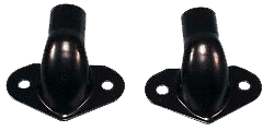 Arnold's Automotive Services 1941 - 1953 Chevy / GMC 1st Series Truck Tailgate Hinges  Black - Pair