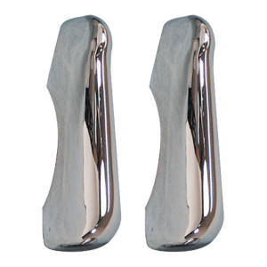 1947-1955-Chevy-GMC-Chrome-Bumper-Guards,-Front-Or-Rear,-Sold-As-A-Pair