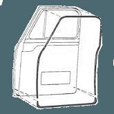 1953-1956-Ford-Truck-Door-Weather-Strip
