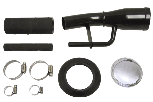 Arnold's Automotive Services 1955 - 1959 Chevy / GMC 2nd Series Truck Fuel Tank Filler Kit (Hose Clamps,  Grommet & Cap)