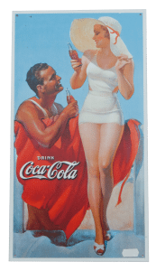 Coca Cola Swim – Tin Sign