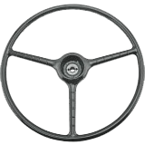 1948-1952-Ford-Pickup-Truck-Steering-Wheel---Black---F1
