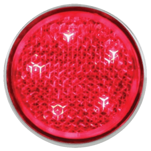 1951,52,56-CHEVY-RED-LED-TAIL-LIGHT-REFLECTOR