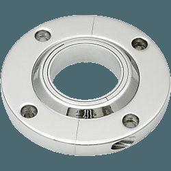 AUTBWFM-Autoloc-Billet-Swivel-Chrome-Column-Floor-Mount
