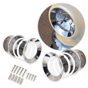 Autoloc - Universal Frenched Headlight Kit (Pair)
