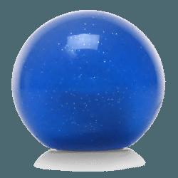 Blue Old Skool Series Custom Shift Knob Translucent with Metal Flake