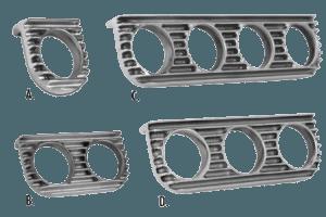 Finned-Gauge-Panels