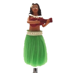 LaiLai-the-Hula-Girl-Custom-Shift-Knob