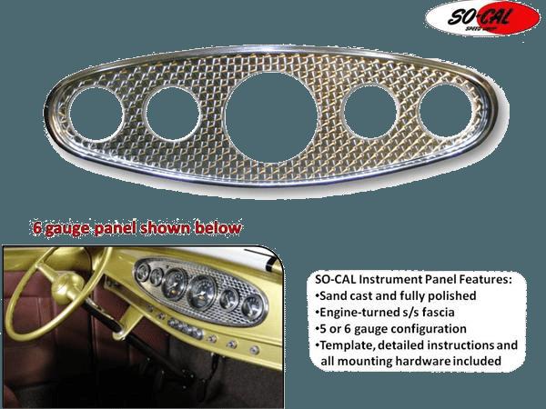 Arnold's Automotive Services - 5 Hole Dash Panel