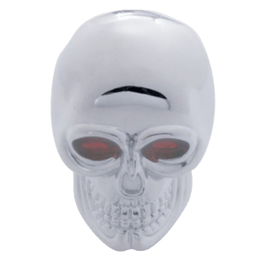 Skull-Chrome-Gearshift-Knob
